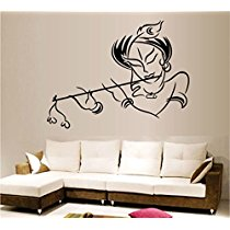Get Decals Design 'Krishna' Wall Sticker at Rs 109 | Amazon Offer