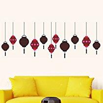 Get Decals Design 'Lanterns Hanging Around' Wall Sticker at Rs 99 | Amazon Offer