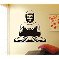 Get Decals Design 'Meditating Buddha' Wall Sticker at Rs 129 | Amazon Offer