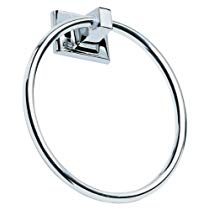 Get Design House 533091 Millbridge Towel Ring, Polished Chrome at Rs 1000 | Amazon Offer