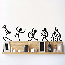 Get DeStudio 'Happy Band' Wall Sticker at Rs 70   Amazon Offer