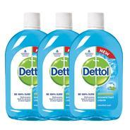 Get Dettol Cool Hygiene - 500 ml (Pack of 3) at Rs 371   Amazon Offer