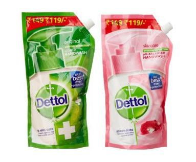 Get Dettol Liquid Hand Wash Refill Pouch 800ml      at Rs 98 | Amazon Offer