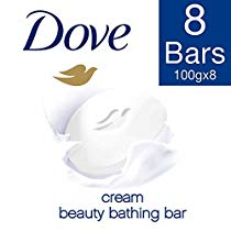 Get Dove Cream Beauty Bathing Bar, 100 g (Pack of 8) at Rs 371 | Amazon Offer
