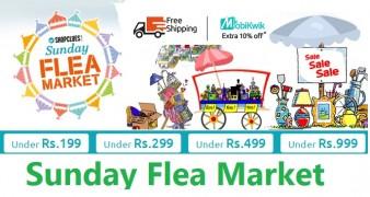 Get  – Dt.1st Oct 2017 Sunday Flea Market Deals at Rs 40 | Shopclues Offer