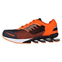 Get Earton Men's Black & Orange TPR Sport Shoes (8 UK) at Rs 899 | Amazon Offer