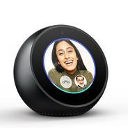Get Echo Spot - Stylish echo with a screen, Make video calls, Voice control your music, news, weathe