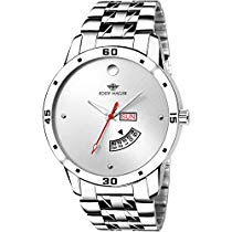Get Eddy Hager Quartz Movement Analogue White Dial Men's Watch – at Rs 299 | Amazon Offer