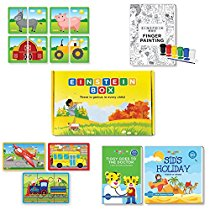 Get Einstein Box For 2 Year Old Kids, Learning & Educational Gift Pack Of Toys & Books at Rs 569 | A