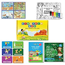 Get Einstein Box For 4, 5 & 6 Year Old Kids, Learning & Educational Gift Pack Of Toys & Books at Rs