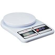 Get Electronic Kitchen Digital Weighing Scale, Multipurpose, White, 10 Kg at Rs 305   Amazon Offer