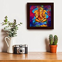 Get [email protected] Artistically Designed 'Ganesha' Framed Wall Ar at Rs 199 | Amazon Offer