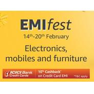 Get EMI Fest - Electronics, Mobiles and Furniture | Amazon Offer