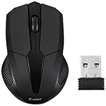 Get Enter EW55 Wireless Optical Mouse Black at Rs 310 | Amazon Offer