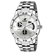 Get Espoir Analogue White Dial Men's Watch -ES109 at Rs 329 | Amazon Offer