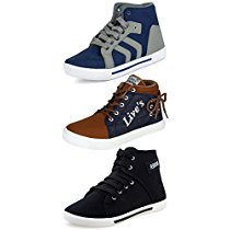 Get Ethics Combo Pack of 3 Casual Sneaker Shoes for Men at Rs 671 | Amazon Offer