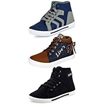 Get Ethics Combo Pack of 3 Casual Sneaker Shoes for Men at Rs 689 | Amazon Offer