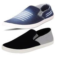 Get Ethics Mens Combo Pack of 2 Loafer Shoes at Rs 495 | Amazon Offer