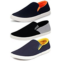 Get Ethics Perfect Combo Pack of 3 Stylish Premium Loafer Shoes for Men at Rs 581 | Amazon Offer