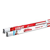 Get Eveready 20-Watt LED Batten (Pack of 2, Cool Day Light) at Rs 529 | Amazon Offer