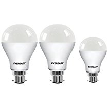 Get Eveready Base B22 14W Pack of 2 + 9W LED Bulbs (Cool Day Light) at Rs 385 | Amazon Offer