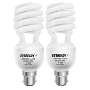 Get Eveready ELS 27-Watt CFL (White and Pack of 2) at Rs 329 | Amazon Offer