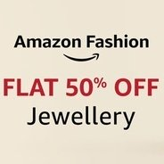 Get Fashion Jewellery Flat 50% OFF | Amazon Offer