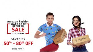 Get  Fashion Min 80% off Store at Rs 240 | Amazon Offer