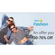 Get Fashion Products Flat 30% - 70% OFF | Flipkart Offer