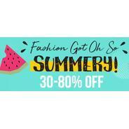 Get Fashion Summer Sale - Clothing, Footwear & More Flat 30% - 80% OFF | Flipkart Offer