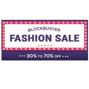 Get Firstcry - Blockbuster Fashion Sale Flat 30% - 70% OFF | firstcry Offer