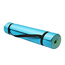 Get Fitkit 2 Color Yoga And Pilates Premium High Thickness Mat Blue and Green at Rs 519 | Amazon Off