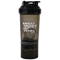 Get Fitkit FK67.60.006-02 Premium Shaker Bottle with 2 Storage Compartments and Loop Top at Rs 259 |