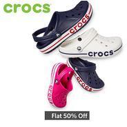 Get Flat 50% OFF On Crocs | Myntra Offer