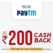 Get Flat Rs.200 Cashback at Box8 Using Pay Via Paytm | Box8 Offer