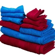 Get Flipkart SmartBuy 500 GSM Combo Bath Towels (Pack of 10, Royal Blue, Maroon)#OnlyOnFlipkart at R
