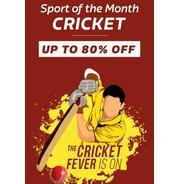Get Flipkart Sport Month - Cricket Upto 80% OFF | Flipkart Offer