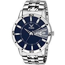 Get Fogg Analog Blue Men's Watch 2038-BL at Rs 379 | Amazon Offer