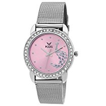 Get Fogg Analog Pink Dial Women's Watch 4009-PK at Rs 341 | Amazon Offer