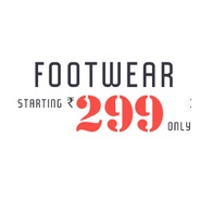 Get Footwaer Starting At Rs.299 at Rs 299 | Yepme Offer