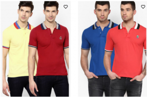 Get FORT COLLINS Pack Of 9 T-shirts      at Rs 1048 | Jabong Offer