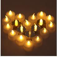 Get Forzza FO-LCL002 Doris Tea Light (Pack of 24, Multicolour) at Rs 146 | Amazon Offer