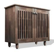 Get Forzza Paris 2-Door Shoe Cabinet (Wenge) at Rs 2465 | Amazon Offer