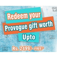 Get Free Provogue Gift Upto Rs.2499 by FreeCharge | Provogue Offer