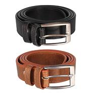 Get Froggy Mens Combo Of 2 Belt(Tan, Free Size) at Rs 199 | Amazon Offer