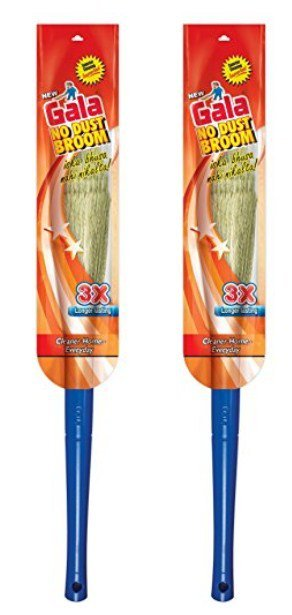 Get Gala No Dust Floor Broom Pack of 1  , Pack of 2  299   at Rs 149 | Amazon Offer