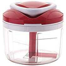 Get Ganesh Easy Pull Smart Plastic Chopper, 650ml/125mm, Red at Rs 224   Amazon Offer