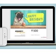 Get Get 10% Cashback on Send an Email Gift Cards | Amazon Offer