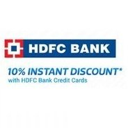 Get Get 10% Instant Discount with HDFC Credit & Debit Cards on TVs, Appliances, Fashion & More   Fli