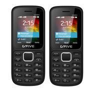 Get GFive U220+ Black Blue+ U220+ Black Blue, 1.8 Inch display, 1000 mah Battery Capacity COMBO OF T